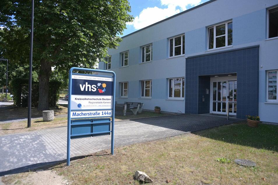 Die Stadt Kamenz bietet der Freien Alternativschule Räume im Gebäude der Volkshochschule an der Macherstraße an. Der Verein hält sie für ungeeignet.