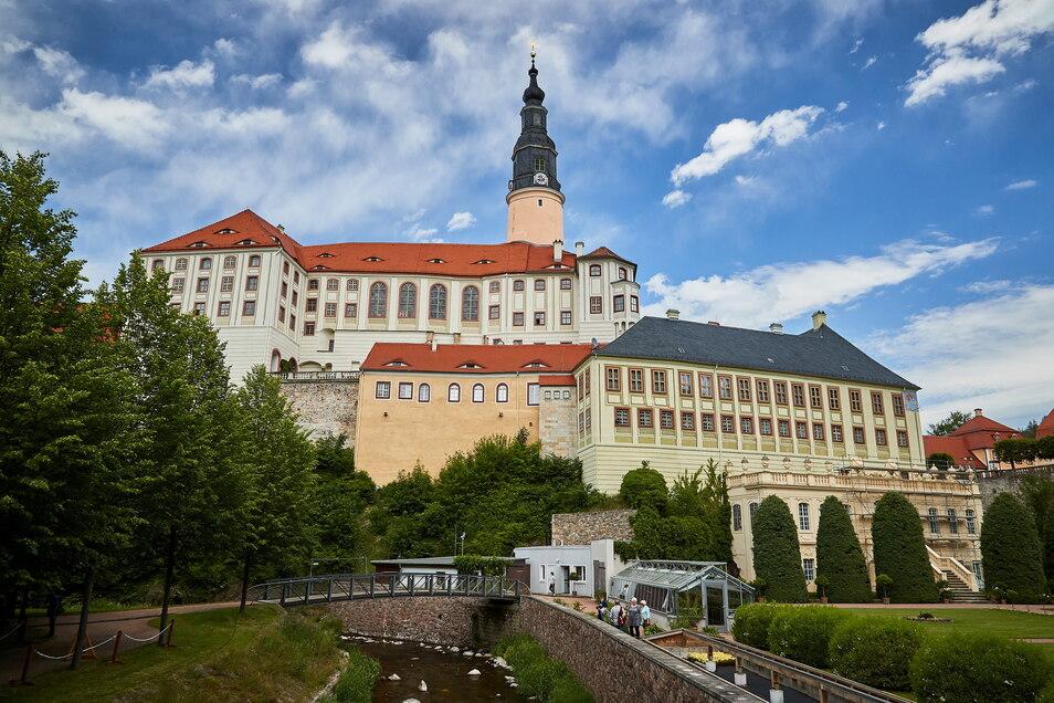 Park ja, Museum nein. Die Saison beginnt auf Schloss Weesenstein coronabedingt draußen an der frischen Luft.
