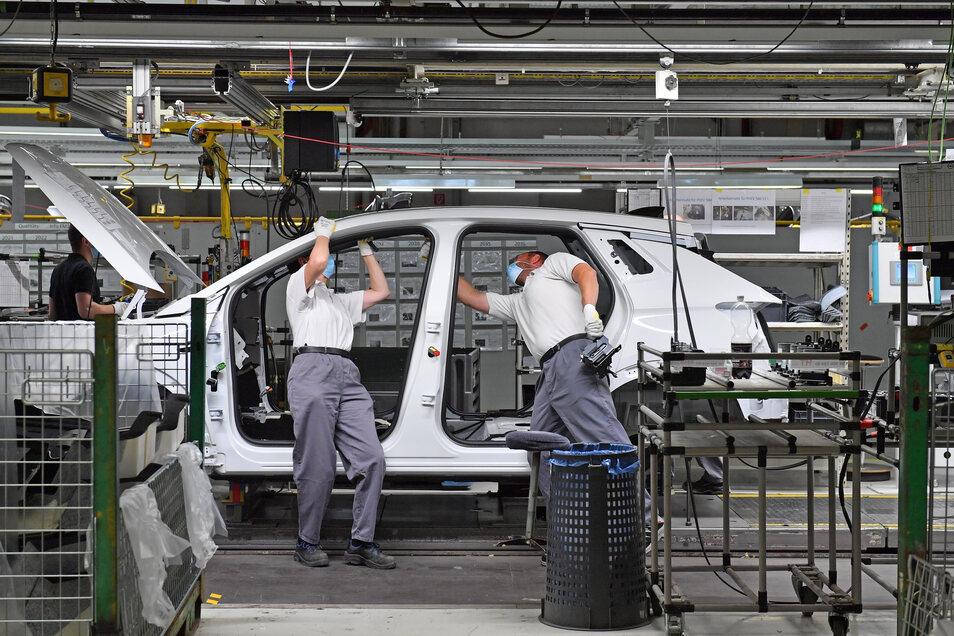 Besonders von der Corona-Pandemie betroffen war die Automobilindustrie. Deshalb ist an Automobilstandorten die Kurzarbeit besonders hoch. Der Landkreis Meißen liegt im oberen Mittelfeld.