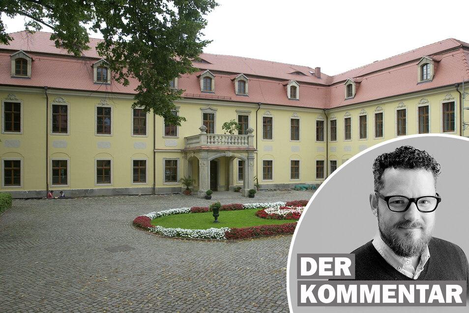 Stadträte aus den Fraktionen der AfD, Linkspartei und Bürger für Meißen/SPD haben erfolgreich gemeinsam gegen den Bau eines Gästehauses für das Weingut Schloss Proschwitz Prinz zur Lippe gestimmt.