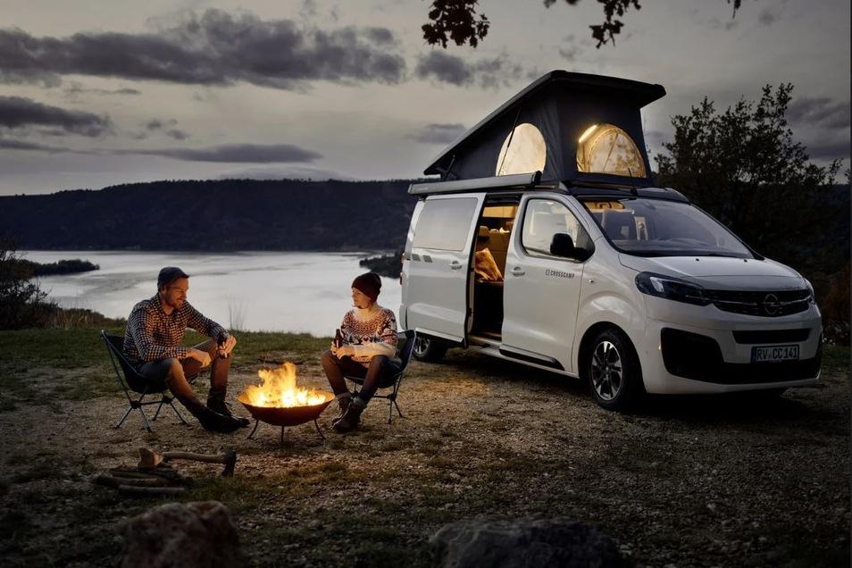 Der Opel Zafira Life wird zum Crosscamp Life und öffnet für seine Besitzer völlig neue Dimensionen in Alltag und Urlaub.