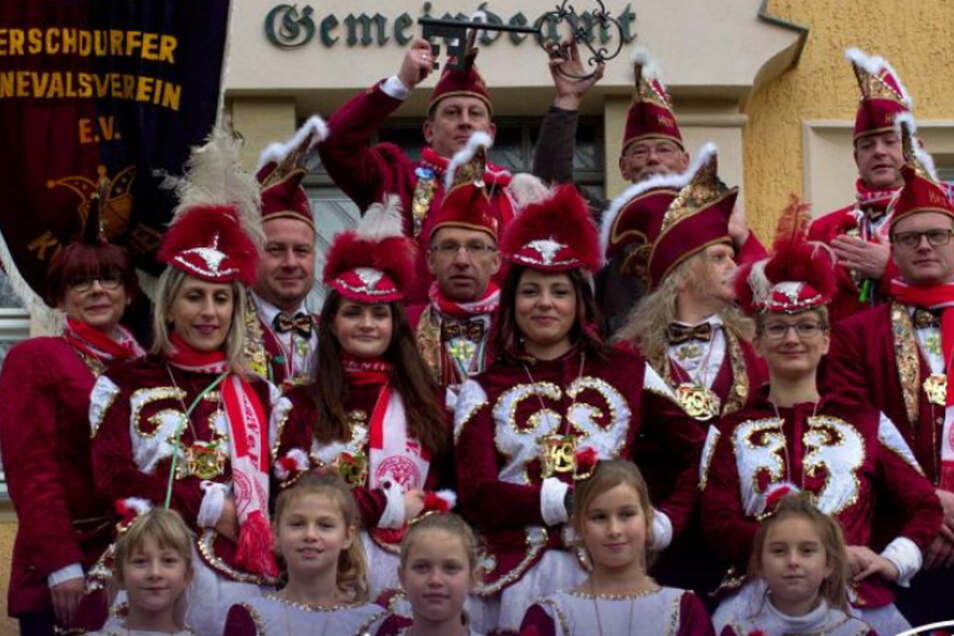 Närrische Saisoneröffnung wird auch inMittelherwigsdorf, gefeiert.