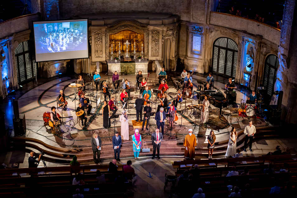 Das Interreligiöse Friedenskonzert in der Kreuzkirche wird bereits zum siebten Mal auf die Beine gestellt.