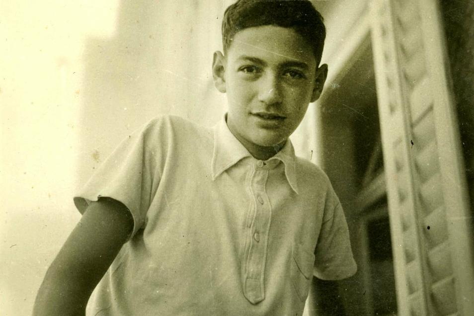 Der junge Thomas hat mehrere Selektionen in den Vernichtungslagern überlebt.