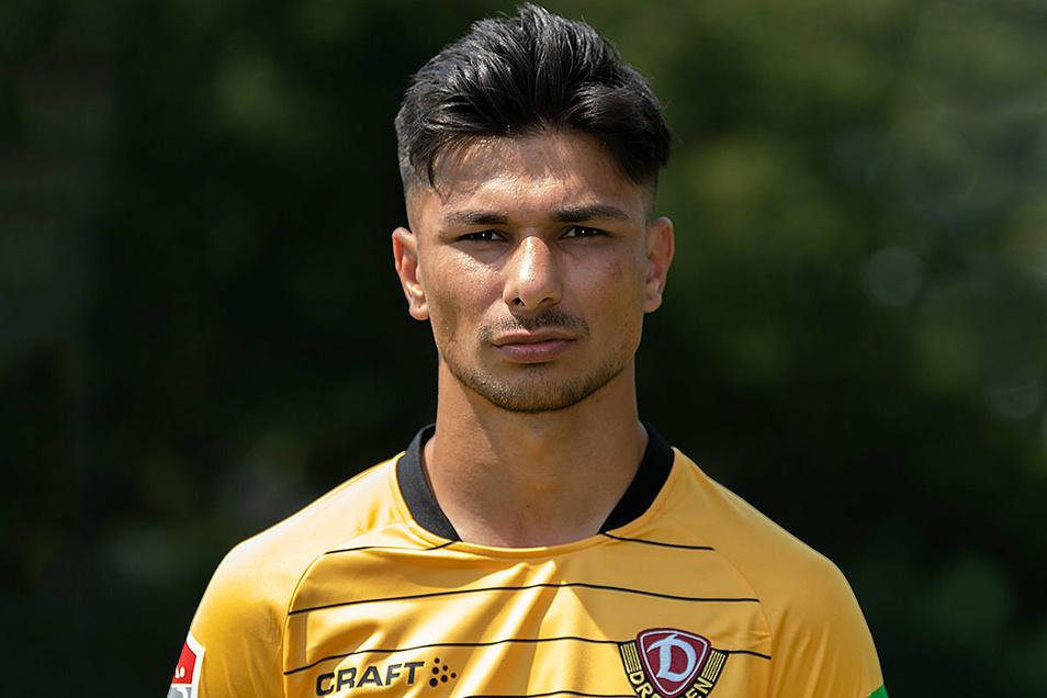 Trägt ab sofort nicht mehr Schwarz-Gelb, sondern Schwarz-Grün: Osman Atilgan wechselt zu Preußen Münster.