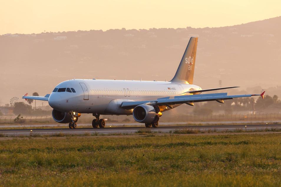 So einen Airbus will Sundair in diesem Jahr übernehmen.