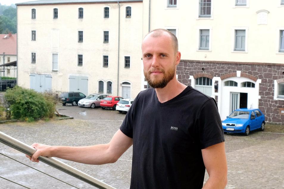 Richard Raue ist Firmenchef und führt das Werk seines Vaters Eberhard Raue weiter.