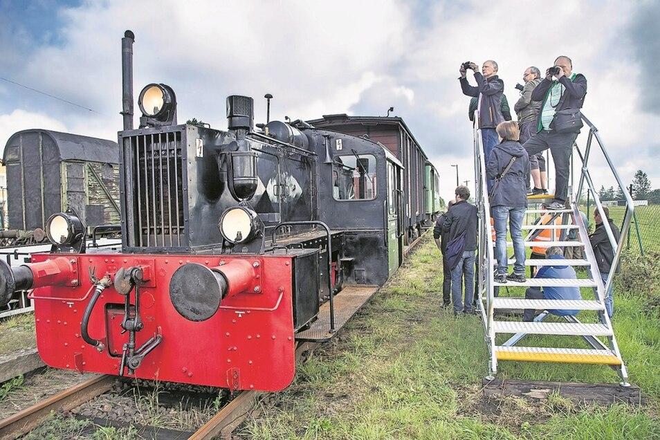 Die Kö 4500 ist nunmehr 85 Jahre alt. Sie wird am Wochenende im Einsatz sein und die Besucher des Gitterseer Bahnhofsfestes mit auf eine kleine Spritztour nehmen.