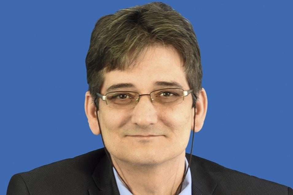 Der Freitaler AfD-Stadtrat Thomas Prinz.