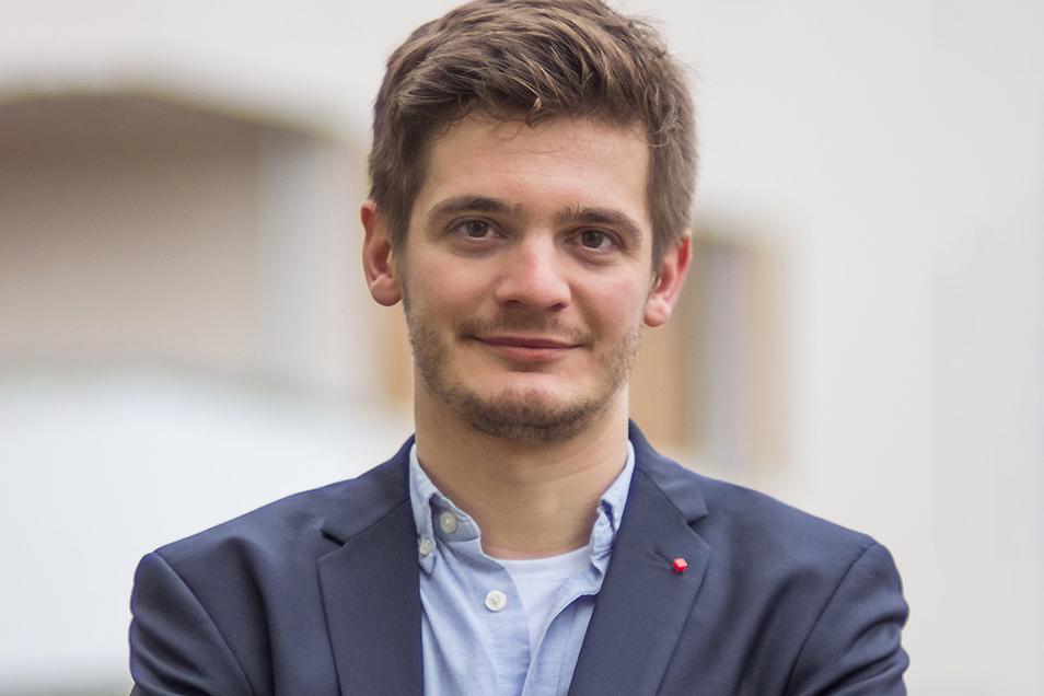 Soll für die SPD-Mittelsachens ins Rennen gehen: Alexander Geißler aus Freiberg.
