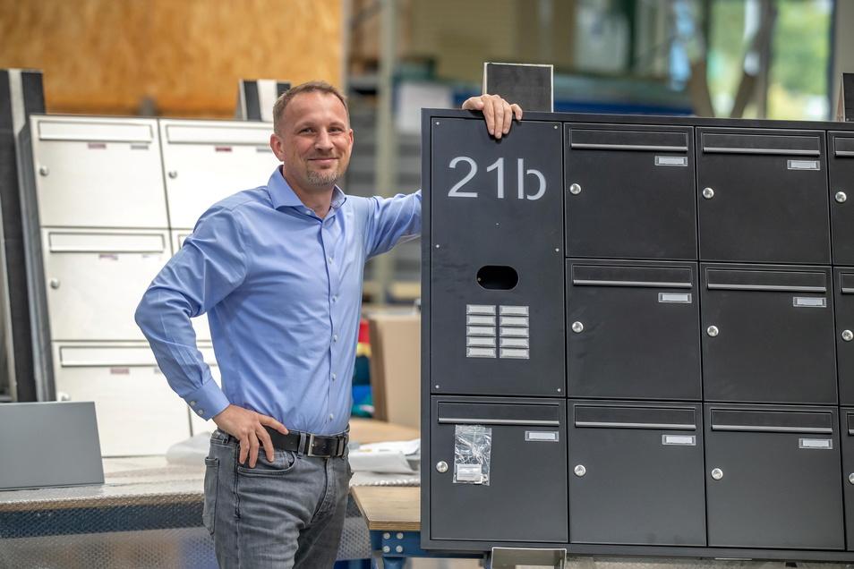 Thomas Kolbe, Geschäftsführer der Firma Max Knobloch und Präsident des Regionalverbandes Mittelsachsen der IHK Chemnitz, wünscht sich ein besseres Miteinander von Politik und Wirtschaft.