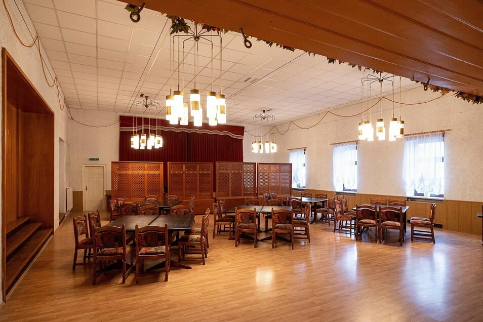 Der Saal im Erbgericht bietet Platz für über 200 Besucher. Die letzten Jahre hat ihn der Elferrat genutzt.