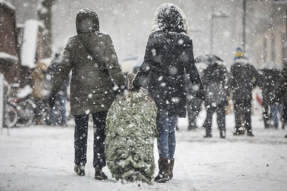 In vielen Regionen Deutschlands gibt es höchstens alle fünf bis zehn Jahre weiße Weihnachten, weiß man beim Deutschen Wetterdienst (DWD) in Offenbach.