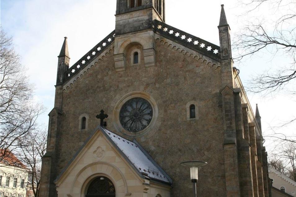 Die Heilig-Kreuz-Kirche wird ab heute renoviert.
