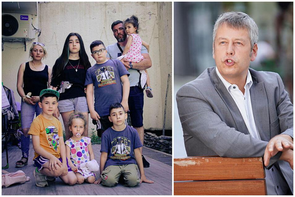 Der SPD-Abgeordnete Albrecht Pallas kritisiert Sachsens Abschiebepraxis - und bezieht sich auf den Fall der Familie Imerlishvili aus Pirna.