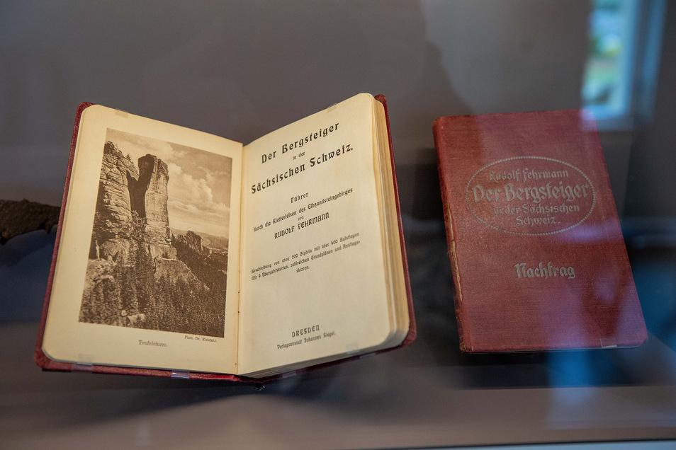 Das erste Bergsteiger-Buch zur Sächsischen Schweiz. Solche und ähnliche Unterlagen werden von Sebnitzer Bergsteigern gesucht.