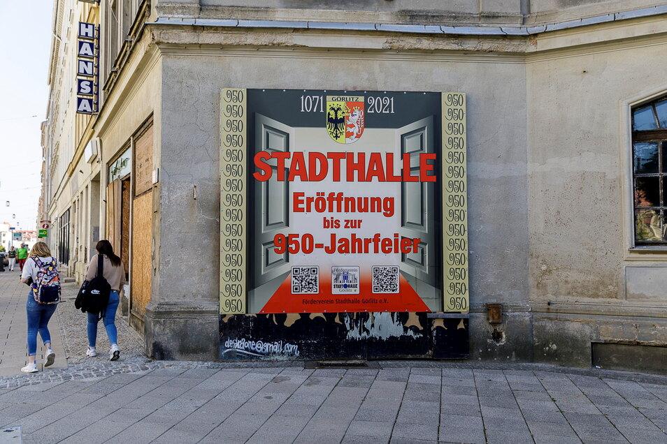 Mit der Eröffnung der Stadthalle dieses Jahr wird es noch nichts. Ob sie zumindest für eine Ausstellung geöffnet sein wird?
