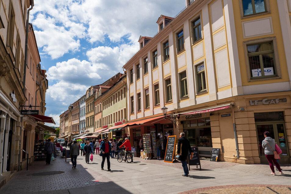 Der Handel hat - wie hier in Pirna - wieder mehr Zulauf.