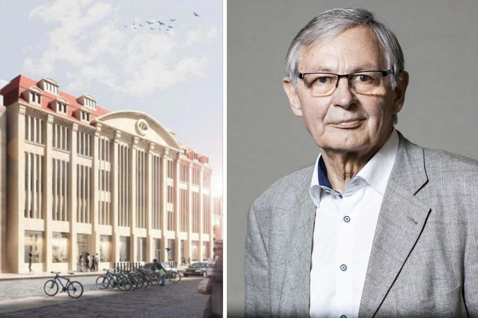 Rolf Weidle ist Aufsichtsratsvorsitzender der Europastadt Görlitz/Zgorzelec. Die Reaktion von Jasna Zajcek zu den Kaufhaus-Plänen hält er für unangemessen.