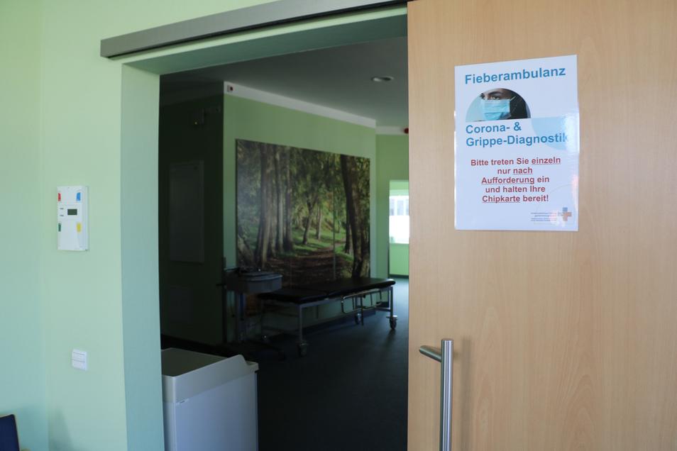 Knapp 580 Tests wurden in der Corona- und Fieberambulanz in Freiberg bereits durchgeführt. Bei zwölf Personen war der Test positiv.