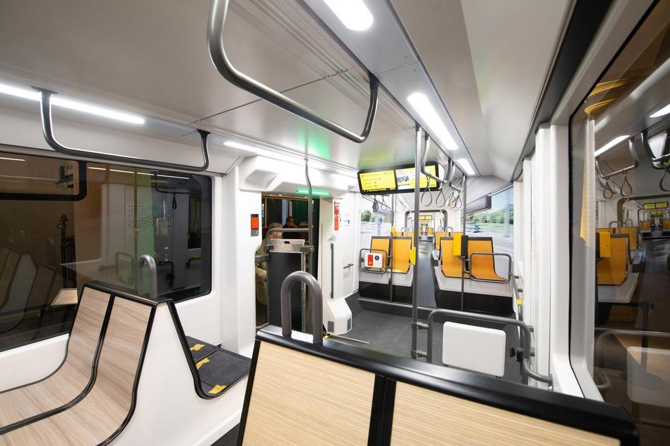 Weite Eingangsbereiche sollen auch Menschen mit Kinderwagen mehr Platz verschaffen.
