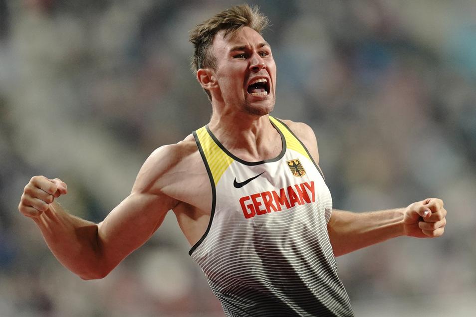 "Niklas Kaul ist seit 2019 jüngster Zehnkampf-Weltmeister. ""Da geht noch mehr"", sagt er."