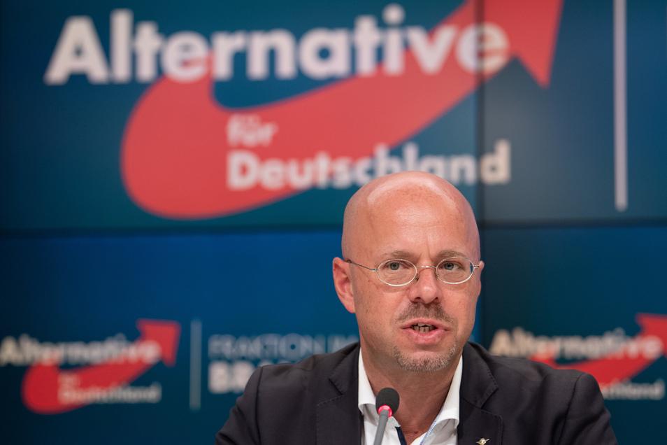 Der von der AfD rausgeschmissene Andreas Kalbitz.