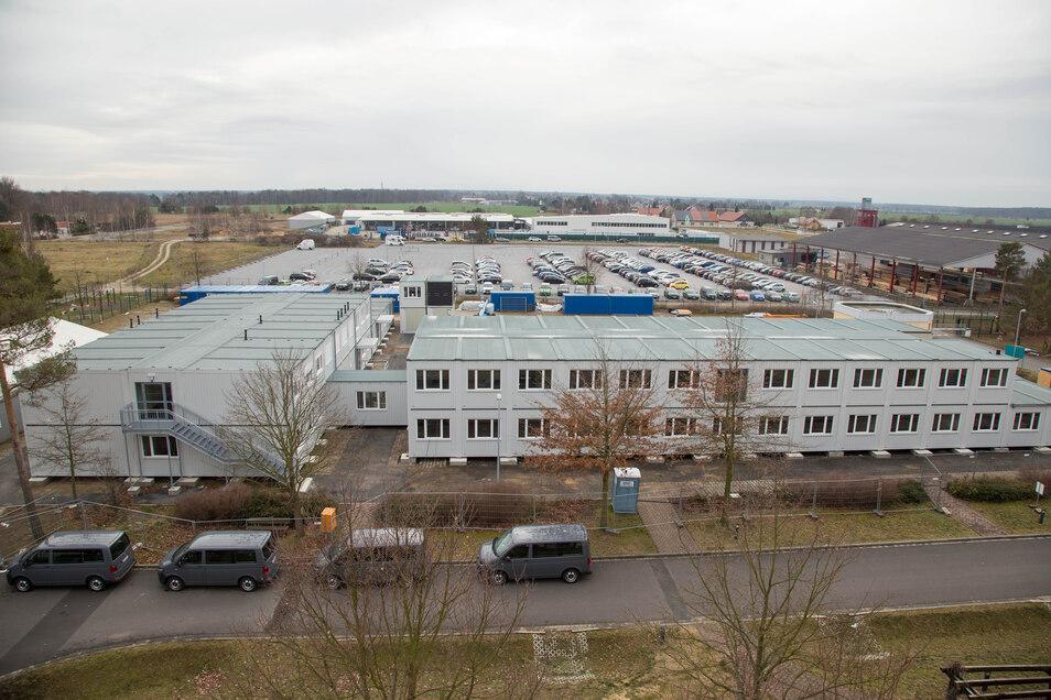 Die Polizeihochschule in Rothenburg. Laut Husgen schaffen zehn Prozent der Anwärter die Polizeiausbildung in Sachsen nicht.
