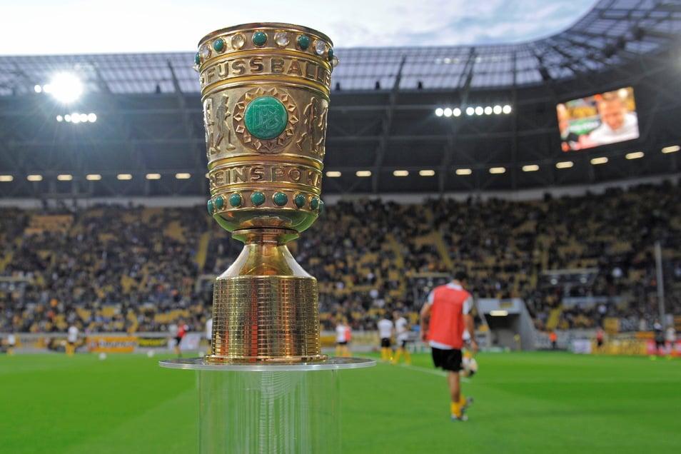Am Sonntag wird die erste Runde im DFB-Pokal ausgelost. Dynamo bekommt einen Gegner aus der ersten oder zweiten Liga und hat definitiv Heimrecht.