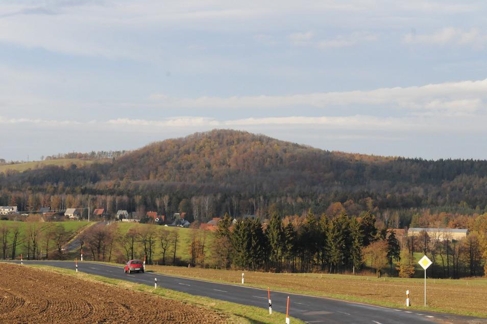 Der Wilisch ist einer der Kernpunkte im gleichnamigen Landschaftsschutzgebiet. Turmpläne und Landschaftsschutz könnten sich hier beißen.