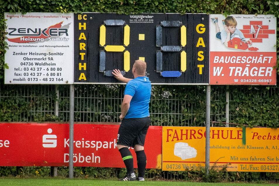 4:1 stand es in Hartha am Sonnabend schon nach 39 Minuten - Endstand 6:4. Folgt am Wochenende der nächste Husarenstreich?