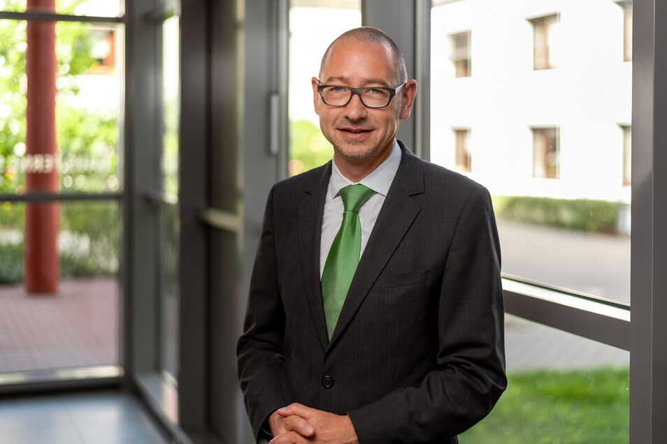 Steffen Köcher, Geschäftsführer Seniorenheime Freiberg gGmbH