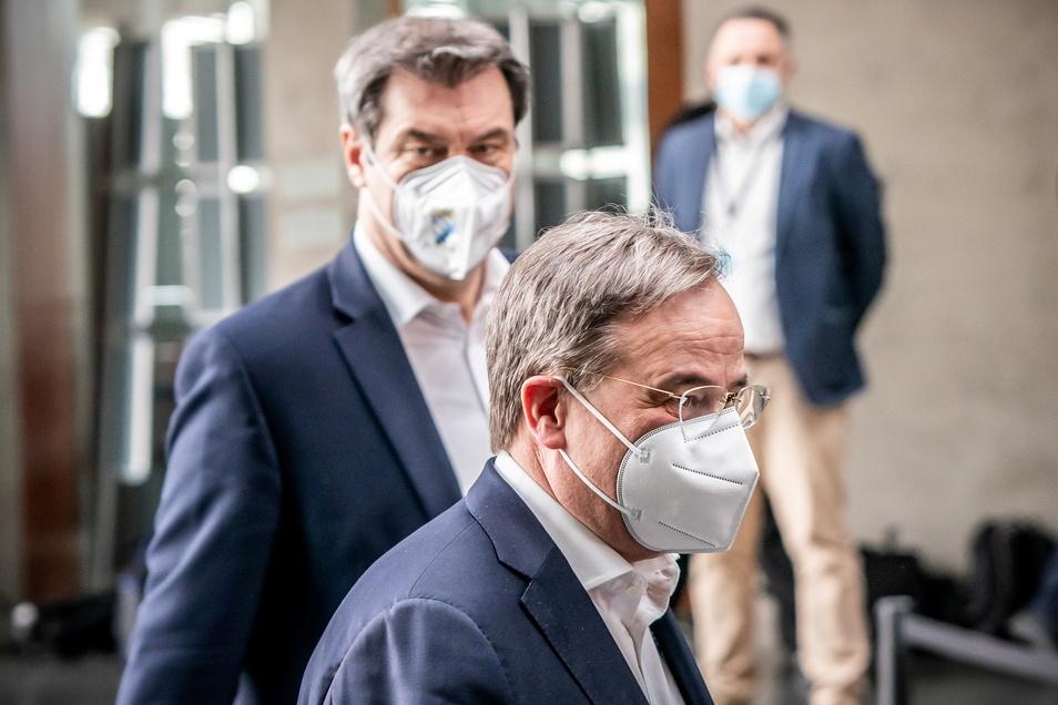 Markus Söder hat der CDU eine Entscheidung über Armin Laschet aufgezwungen.