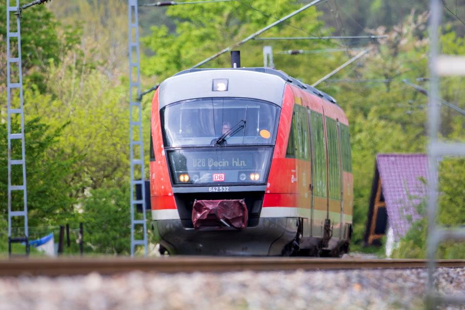 Die Nationalparkbahn, die unter anderem Sebnitz, Bad Schandau und Děčín ansteuert, rollt trotz Bahnstreik planmäßig. Anderswo ging dagegen gar nichts.