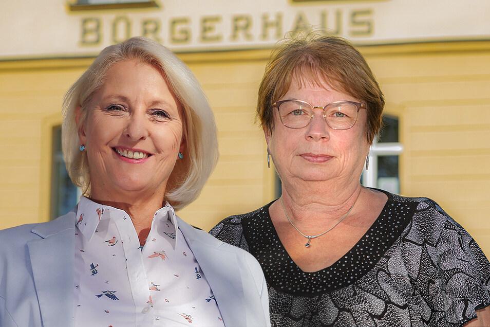 Zwei Frauen bewerben sich um die nächsten sieben Jahre im Ohorner Bürgermeisteramt. Rechtsanwältin Heike Lotze (AfD, l.) fordert die amtierende Rathauschefin Sonja Kunze (parteilos) heraus.