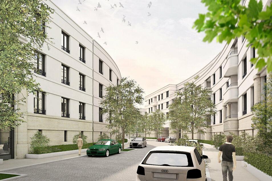 """Investoren aus Bayern machten bereits vor sieben Jahren die ersten Entwürfe für das Wohnquartier am Bahnhof Dresden-Mitte. Damals nannte man es noch """"Kö25"""", benannt nach der Könneritzstraße 25."""