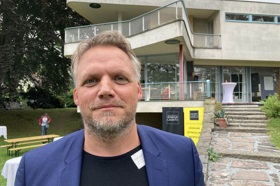 Marcel Linge ist Coach beim Gründungszentrum Zukunft Lausitz.