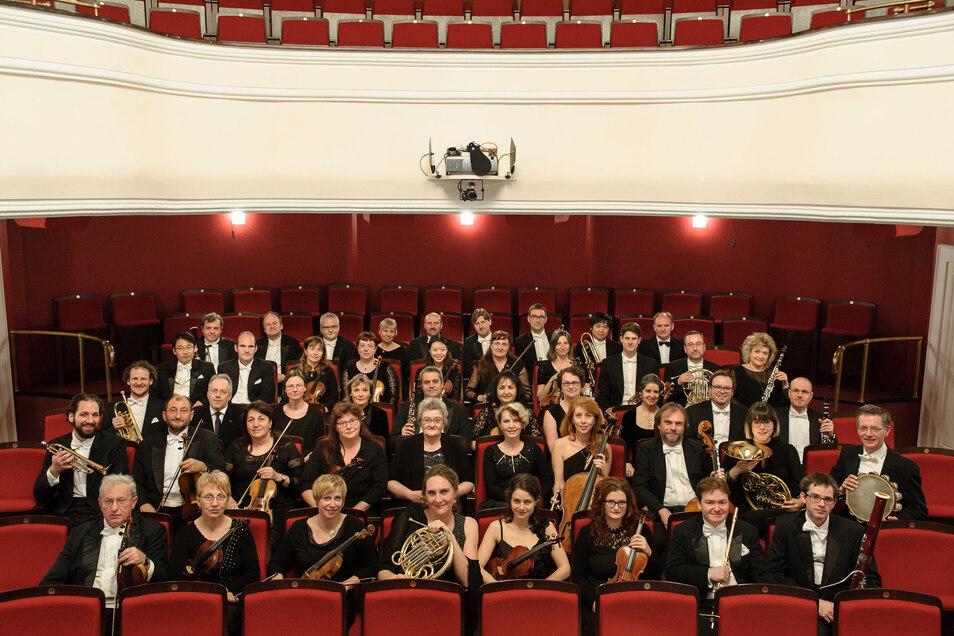 """Das 1. Sinfoniekonzert der mittelsächsischen Philharmoniker im Theater Döbeln steht am 13. September unter dem Titel """"Psyche und Eros"""". Acht Konzerte wird es in der neuen Spielzeit in Döbeln und Freiberg geben."""