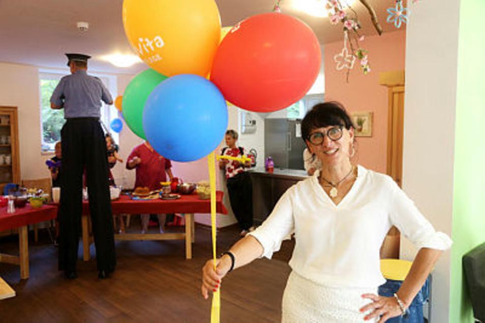 Advita-Regionalleiterin Anja Maiwald.