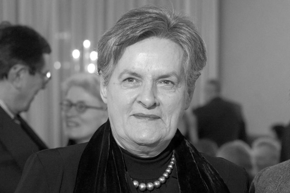 Friederike de Haas ist tot.