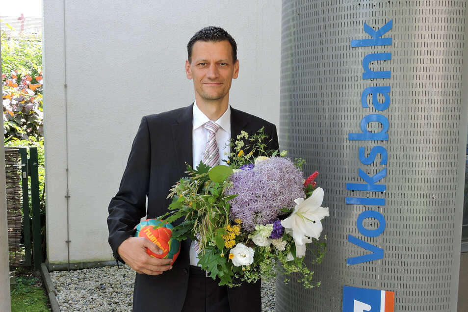 Karsten Küter ist neuer Präsident des Sächsischen Handballverbands.