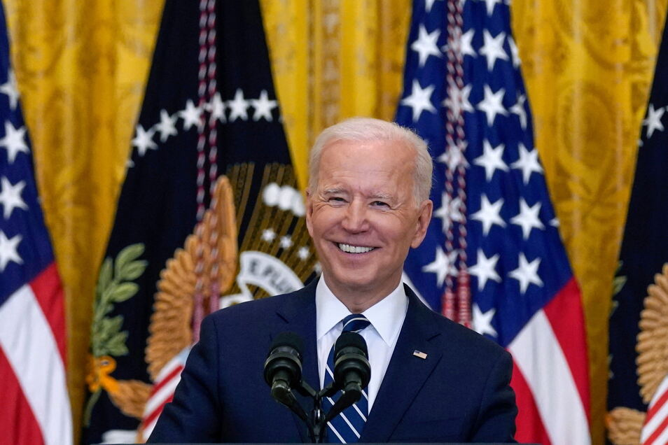 Joe Biden, Präsident der USA, will auch 2024 wieder Präsident werden.