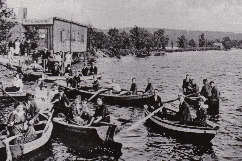 In den 1920er-Jahren gab es auf dem großen Galgenteich sogar einen Ruderverein.