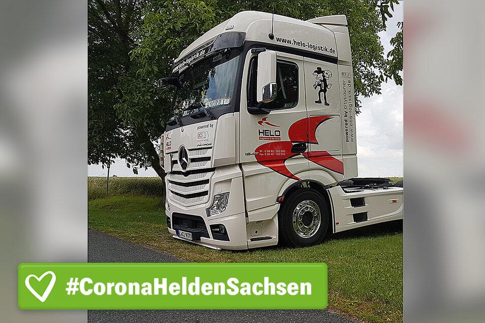 Fährt meist Getränke mit seinem Laster aus: Andreas Knorr.