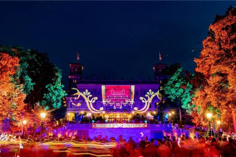 In Dresden ist am Wochenende die 10. Schlössernacht gefeiert worden.