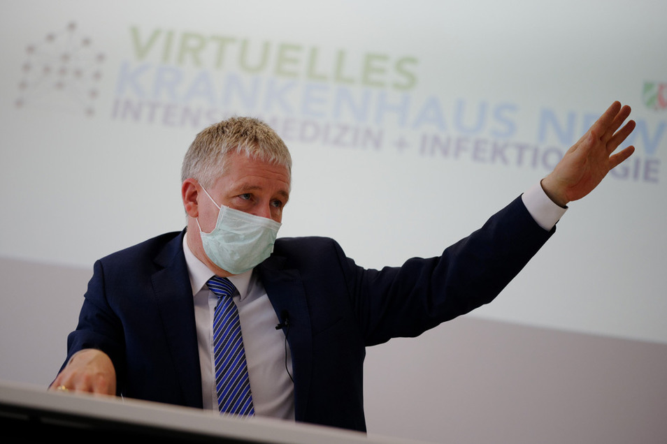 Der neue Präsident der Vereinigung der Intensiv- und Notfallmediziner (DIVI), Gernot Marx.