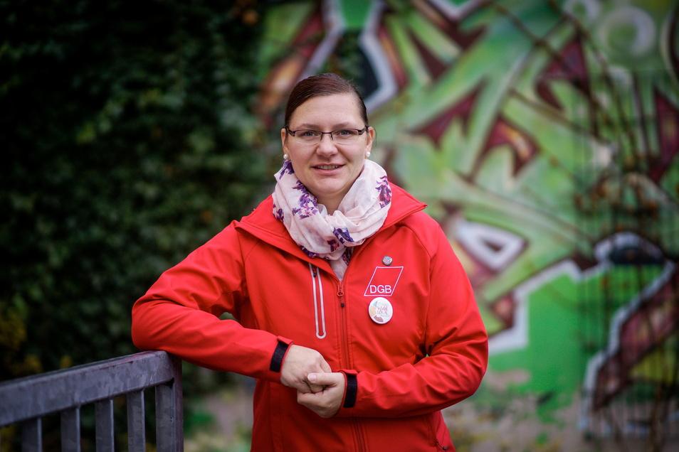 Dana Dubil ist die Regionalgeschäftsführerin DGB Ostsachsen.