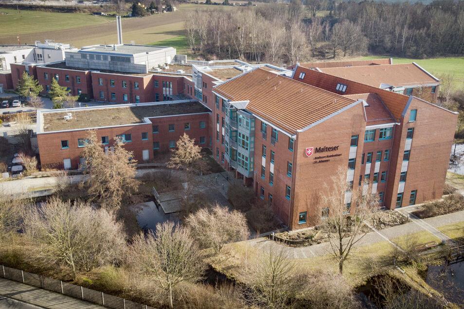 Das Kamenzer Malteser-Krankenhaus ist eine von mehreren Einrichtungen im Landkreis Bautzen, die Geld für die Digitalisierung erhalten.
