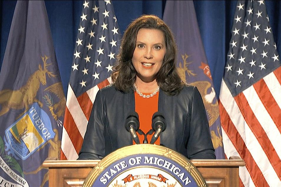 Gretchen Whitmer, demokratische Gouverneurin von Michigan, sollte entführt werden, um die Regierung des US-Bundesstaates zu stürzen.