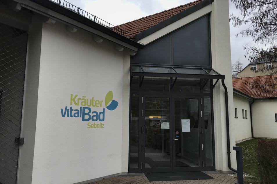 Kräutervitalbad Sebnitz: Bis auf weiteres geschlossen, ebenso Solivital und Kunstblumenmanufaktur.